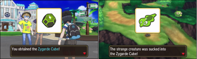 how to get zygarde cube ultra moon